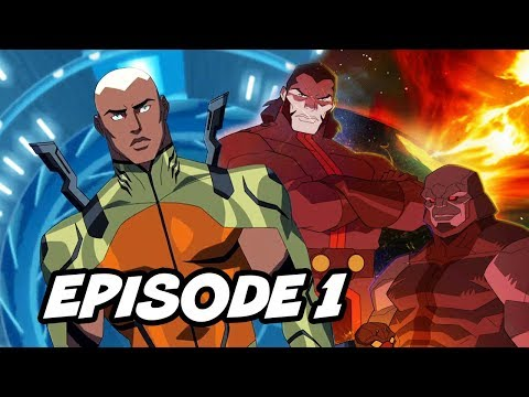 Young Justice Season 3 Episode 1 Justice League Opening Scene Explained
