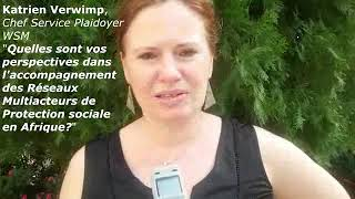 Protection Sociale, Katrien Verwimp s'engage avec le réseau zonal multiacteurs