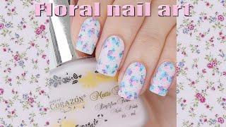 Floral Nail Art / Цветочный дизайн