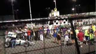 preview picture of video 'King of Wings 2012 Oswego Speedway'