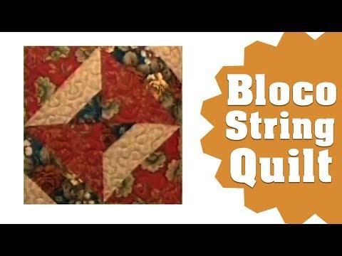 Bloco String Quilt