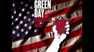 Green Day - American Idiot - American Idiot - HD (High Definition)