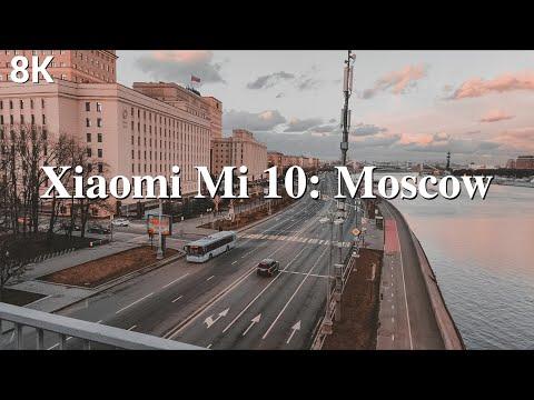 Xiaomi MI10 Cinematic 8K: Moscow Russia