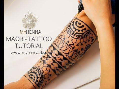 Maori Tattoo | Jagua Gel - MyHenna