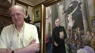 «Pintar a san Josemaría me acercó a Dios»