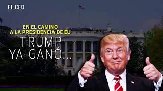 Trump ya le ganó a los aspirantes presidenciales de EU… al menos en riqueza