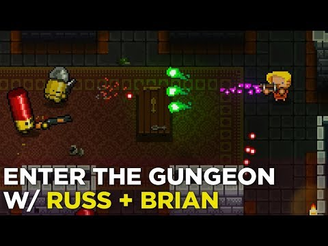 Enter the Gungeon Is DOPE on Switch (feat. Russ and Ol' Brian!)