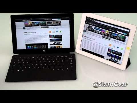 Microsoft Surface RT vs iPad 3
