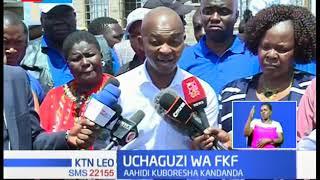 Maandalizi ya uchaguzi wa FKF yaanza huku Nick Mwendwa akiwasilisha stakabadhi