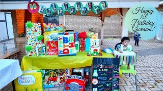 Giovannis 1st Birthday | The Very Hungry Caterpillar