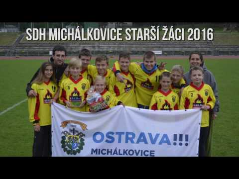 Požární Sport - SDH Michálkovice starší žáci 2016 - Dva Mladí Hasiči