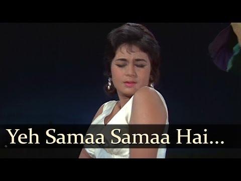 Download Jab Jab Phool Khile - Yeh Samaa Samaa Hai  - Lata Mangeshkar Mp4 HD Video and MP3