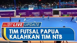 Jalani Pertandingan Sengit Lawan NTB, Tim Futsal Papua Mampu Menang dengan Skor 3-2