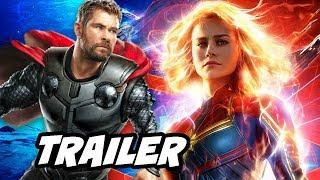 Captain Marvel Trailer 2 - Avengers 4 Easter Eggs Breakdown