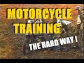 Enduro motorcycle training in the army