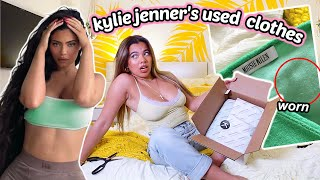 I SPENT $250 ON KYLIE JENNERS USED CLOTHES... lets unbox