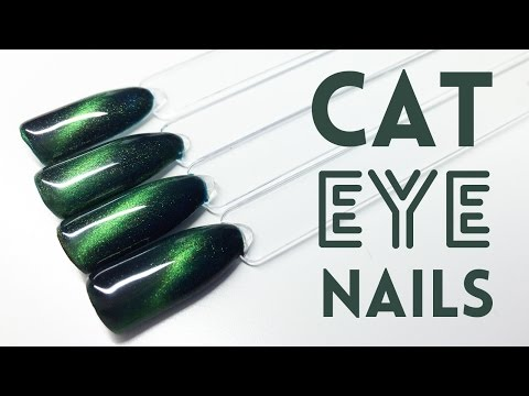 4 Ways To CAT EYE Nails  |  Kocie Oko  ||  My Wonderland