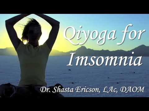 3 women standing on yoga mats working on insomnia exercise