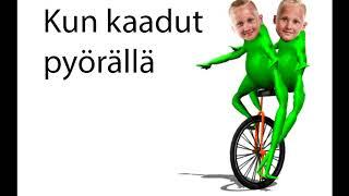 Eino Ja Aapeli   Mä Voisin Olla Se 10h
