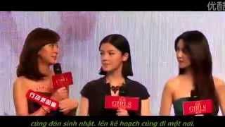 """[Vietsub] Họp Báo """"GIRLS"""" Chung Hán Lương 15/06/2014"""