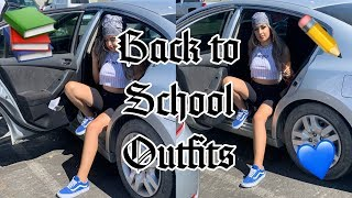BACK TO SCHOOL OUTFIT IDEAS YOU NEED | 2019 Look Book
