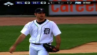 Verlander no-hits the Brewers