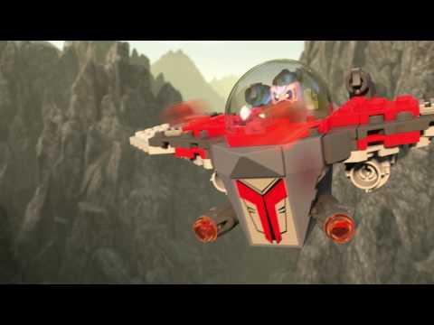 Vidéo LEGO Marvel Super Heroes 76079 : L'attaque du ravageur