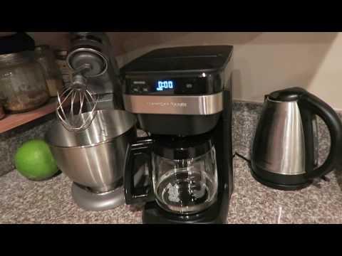, Hamilton Beach 46310 Coffee Maker, Black