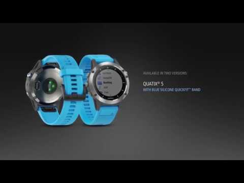 quatix® 5 – Multisport Marine Smartwatch