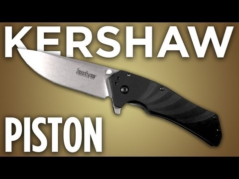 "Kershaw Piston Assisted Opening Knife (3.5"" Stonewash) 1860"
