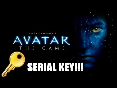 SERIAL DO JOGO AVATAR THE GAME ( CAMERON'S )