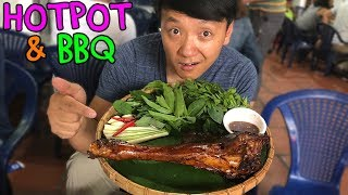PASSION FRUIT Hotpot & WATER BUFFALO BBQ in Saigon Vietnam