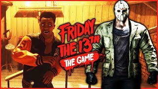 TRENT VS WINDVOW! THE REMATCH! - Friday The 13th Funny Moments Gameplay