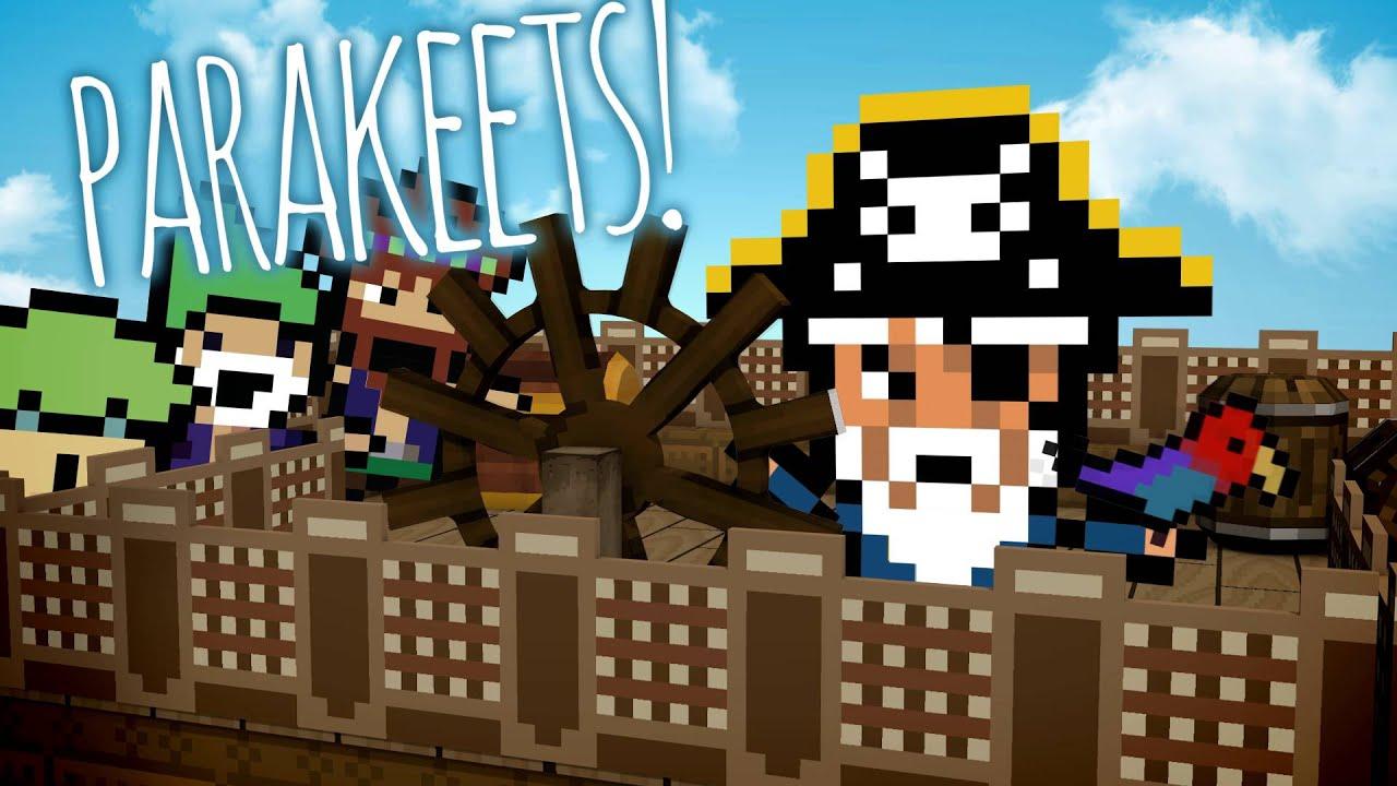 Il simulatore di pirati Pixel Piracy fa rotta verso PlayStation 4