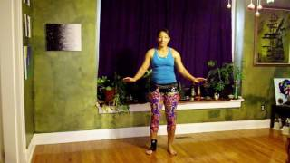Belly Dance for Core/Ab Strengthening and Toning Workout