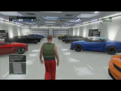 GTA V MI GARAGE AL COMPLETO mis 10 coches