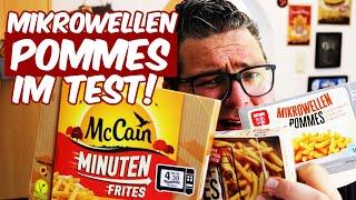 TEST: MIKROWELLEN POMMES - LECKER ODER NICHT? Pommes Frites aus der Mikrowelle im Test!