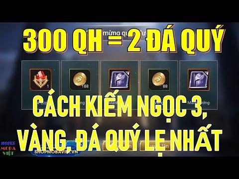Chỉ 150k được 2 Đá quý, 20 thẻ đổi tên, 30 ngọc cấp 3, 10k vàng... Hack chăng?