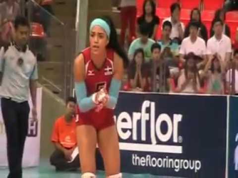 Brazil women's volleyball team in Thailand 2014 RU