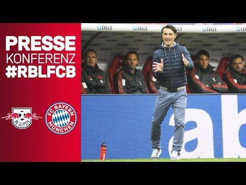 """Sehr gutes Bundesliga-Spiel""  Pressekonferenz mit Niko Kovac & Ralf Rangnick   #RBLFCB"