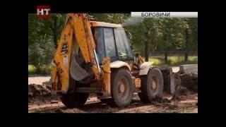 В Окуловке и Боровичах полным ходом идет строительство двух социально-значимых объектов