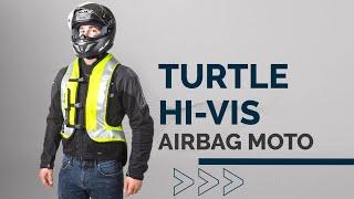 Helite Airbagweste Turtle, signalgelb