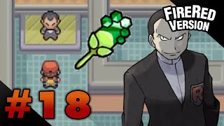 Let's Play Pokemon: FireRed - Part 18 - Viridian Gym Leader Giovanni