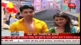 SBB - Gurmeet & Kratika's Hot & Breathtaking Rain Dance (Holi Special) - 3rd March 2012