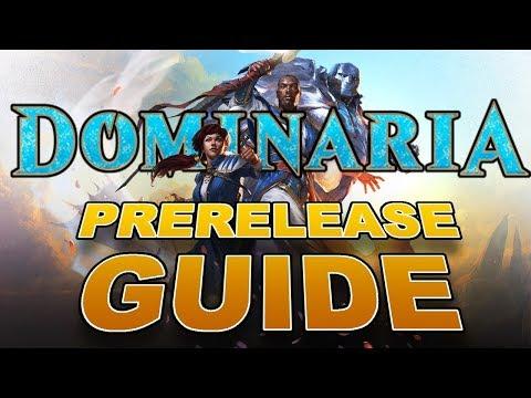 MTG – FULL Dominaria Prerelease Guide! Win the Magic: the Gathering Prerelease!