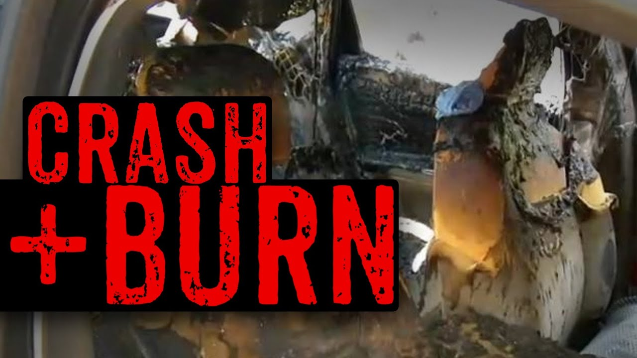 Man Sets Himself On Fire Trying To Throw Car Firebomb thumbnail