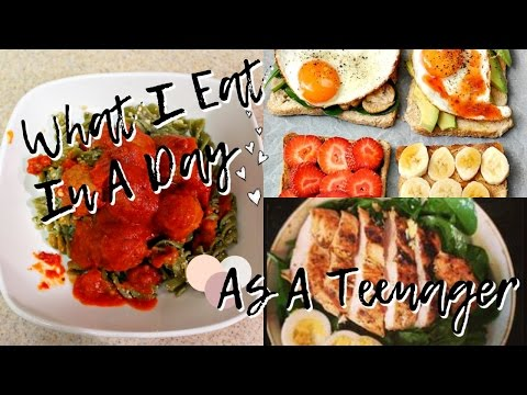 what I eat in a day (as a teenager!)