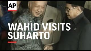 INDONESIA: JAKARTA: PRESIDENT WAHID VISITS SUHARTO