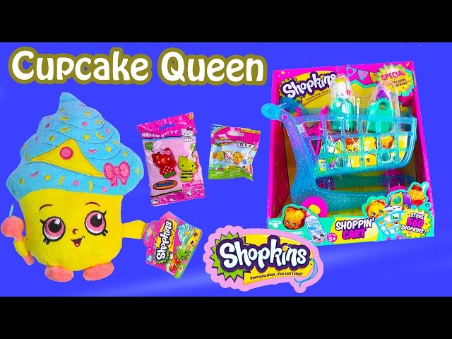 Related Song Shopkins Season 3 Shopping Cart Limited Edition Cupcake Queen Plush