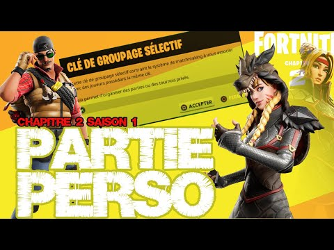 LIVE PP-FORTNITE 2 PARTIE PERSONALISEE AVEC LES ABOS FORTNITE BATTLE ROYALE PS4 HD